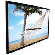Elite Screens® ezFrame Series 92 Fixed Frame Projection Screen, 16:9, Black Casing