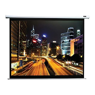 Elite Screens® Spectrum Series 85in. Electric Projection Screen, 16:10, White Casing