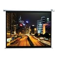 Elite Screens® Spectrum Series 90in. Electric Projection Screen, 16:10, White Casing