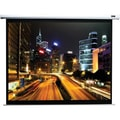 Elite Screens® Manual B Series 100in. Manual Projection Screen, 1:1, White Casing