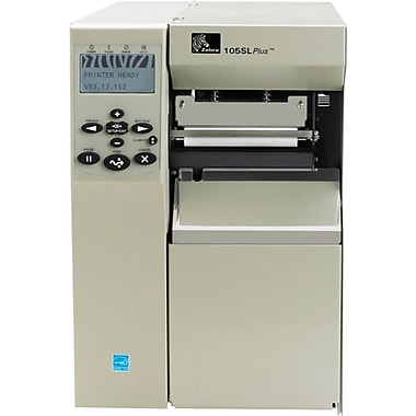 Zebra® 105SLPlus 203 dpi Desktop Thermal Transfer Printer