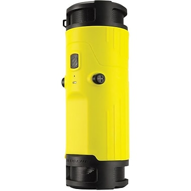 Scosche® BTBTLY 6 W Boom Bottle 2.0 Wireless Speaker System, Yellow/Black