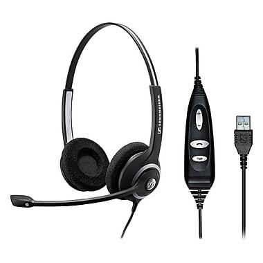 Sennheiser SC 260 USB ML Headset, Black
