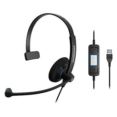 Sennheiser SC 30 USB CTRL Headset, Black