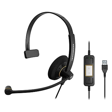 Sennheiser SC 30 USB ML Headset, Black