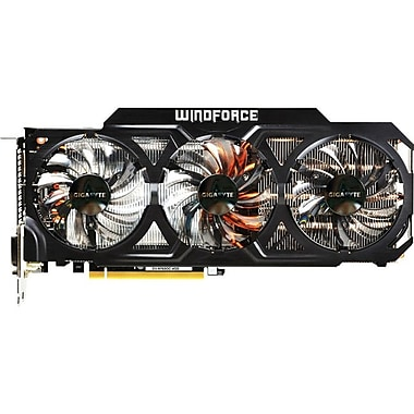 GIGABYTE™ GeForce GTX760 4GB GDDR5 Graphic Card With WINDFORCE 3X 450W Cooling system