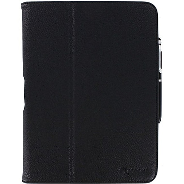 rOOCASE Dual-View Folio Case Cover With Stylus For Samsung galaxy Tab 3 10.1, Black