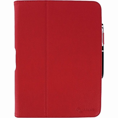 rOOCASE Dual-View Folio Case Cover With Stylus For Samsung galaxy Tab 3 10.1, Red