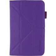 rOOCASE Origami Folio Carrying Case For Samsung galaxy Tab 3 7.0, Purple