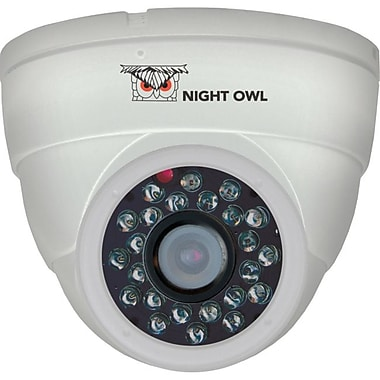 Night Owl® CAM-DM624 600 TVL Security Dome Camera With 50'of Night Vision, White