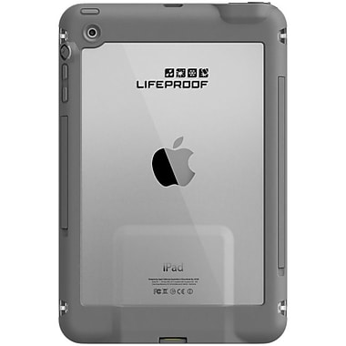 LifeProof® Fre Underwater Case For iPad Mini, White/Gray