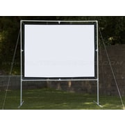 "Elite Screens® DIY Screen Series 251"" Portable Projection Screens, 16:9, Black Casing"