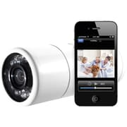 Y-Cam HomeMonitor YCHME01 Outdoor Wireless Video Monitoring Camera, White