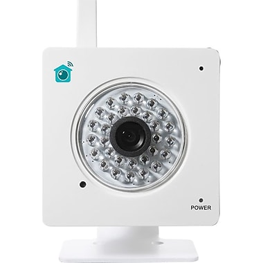 Y-Cam HomeMonitor YCHMI01 Indoor Wireless Video Monitoring Camera, White