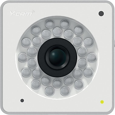 Y-Cam Cube HD 1080 IP Camera, White