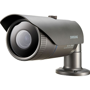 Samsung SCD-2080 High Resolution Varifocal Lens Camera, Dark Gray