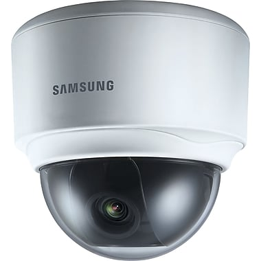 Samsung SNV-5080 HD Vandal Resistant Network Dome Camera, Light Gray