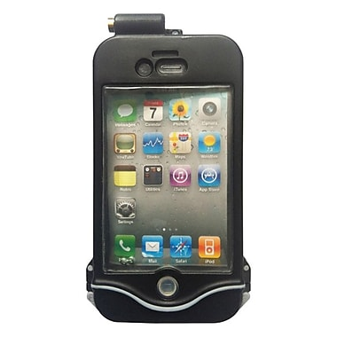 DriSuit Endurance Waterproof Case for iPhone 4/4s, Midnight Black