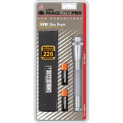 MAGLITE Pro 2.30 Hour 2-Cell AA LED Flashlight, Gray