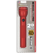 MAGLITE Pro 12.45 Hour 2 D-Cell LED Flashlight, Red