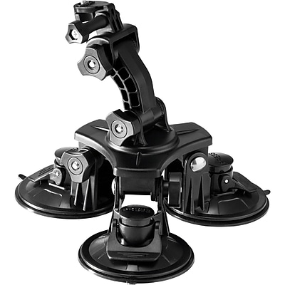 Veho MUVI Universal Triple Cup Suction Mount For MUVI HD Camera 292882