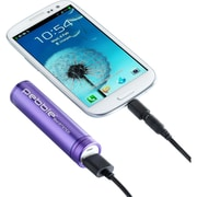 Veho VPP002SSB Pebble Smartstick Battery Pack Charger, 5V - 2500 mAh, Purple