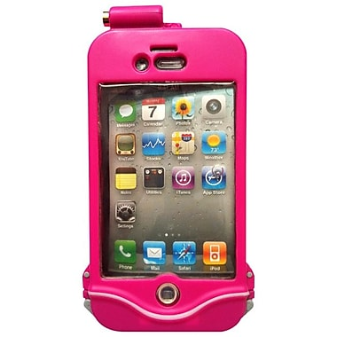 DriSuit Endurance Waterproof Case for iPhone 4/4s, Hot Pink
