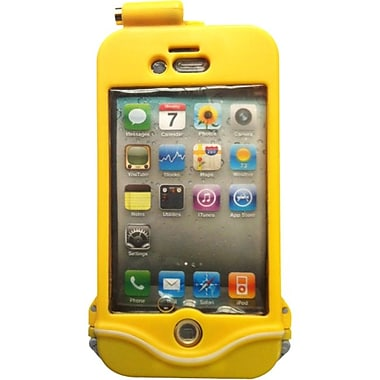 DriSuit Endurance Waterproof Case for iPhone 4/4s, Marine Yellow