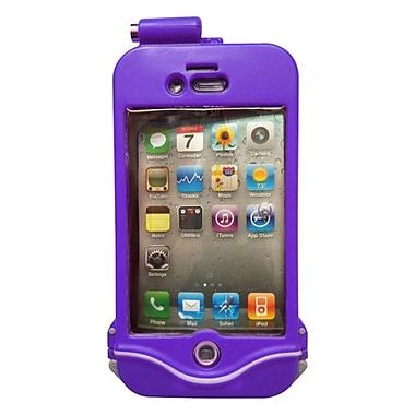 DriSuit Endurance Waterproof Case for iPhone 4/4s, Passion Purple