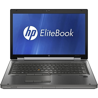 HP EliteBook Mobile Workstation 8760w - 17.3in. - Core i7 2860QM - Windows 7 Pro 64-bit - 8 GB RAM - 500 GB HDD