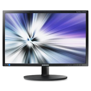 Samsung® 220Series 18 1/2in. Business LED LCD Monitor, Matte Black
