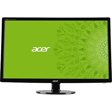 Acer® UM.HS1AA.C01 27in. Widescreen TFT LED LCD Monitor, Black