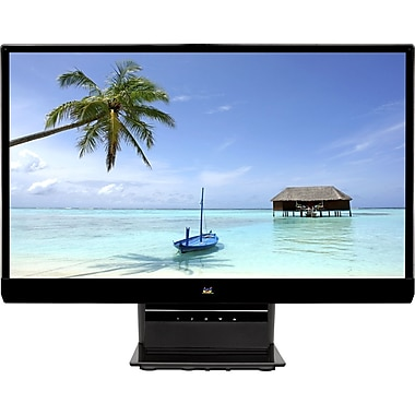 Viewsonic® VX2270SMH-LED 22in. Widescreen Full HD 1080p LED LCD Monitor, Glossy Black