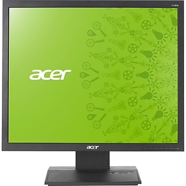 Acer® UM.CV3AA.A03 19in. TFT LED LCD Monitor, Black