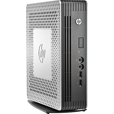 HP® t610 Plus Flexible Thin Client Servers, 1GB Flash / 4GB RAM