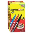 Avery MARKS-A-LOT Fine Bullet Tip Permanent Markers, Red/Blue/Black