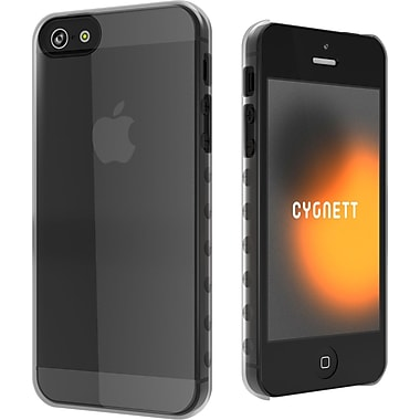 Cygnett AeroGrip Slim Soft Ergonomic Case For iPhone 5, Crystal Clear
