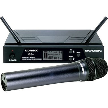 Bogen UDMS800HH UHF Wireless Handheld Microphone System
