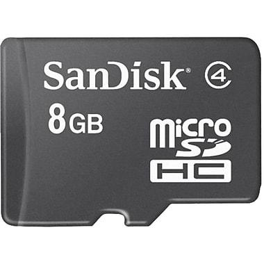 SanDisk microSDHC Class 4 Memory Card, 8GB