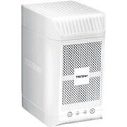 TRENDnet TN-200T1 2-Bay NAS Media Server Enclosure, 1 TB