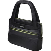 Kensington Triple Trek 14 Ladies Tote Carrying Case for Ultrabook, Black, Green