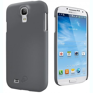 Cygnett Feel Soft Touch Slim Case For Samsung Galaxy S4, Charcoal Gray