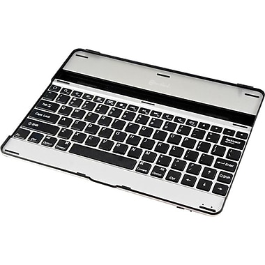Syba Bluetooth Keyboard for The New iPad/iPad 2, Silver/Black