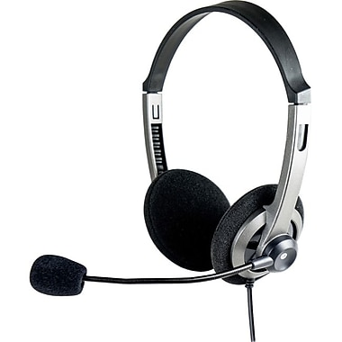 Syba CL-AUD63074 Lightweight Headset With Boom Microphone