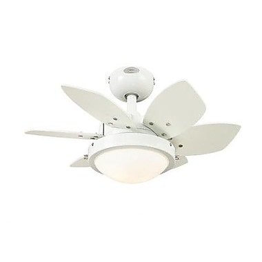 Westinghouse Lighting 24  Quince 6 Blade Ceiling Fan