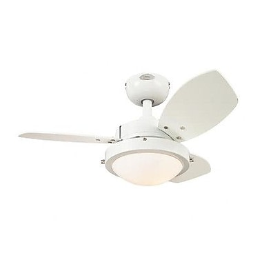 Westinghouse Lighting 30  Wengue 3 Blade Ceiling Fan