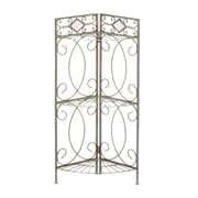 SEI Gunmetal Reflections Corner Rack