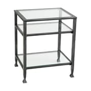 SEI Sleek Bunching Collection End Table