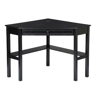 SEI Corner Computer Desk, Black
