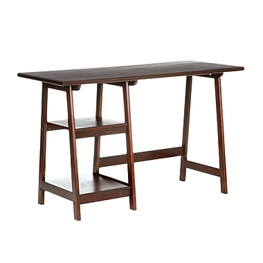 SEI Langston MDF Desk, Espresso